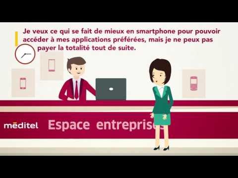 Des options pour un paiement souple de votre smartphone - méditel