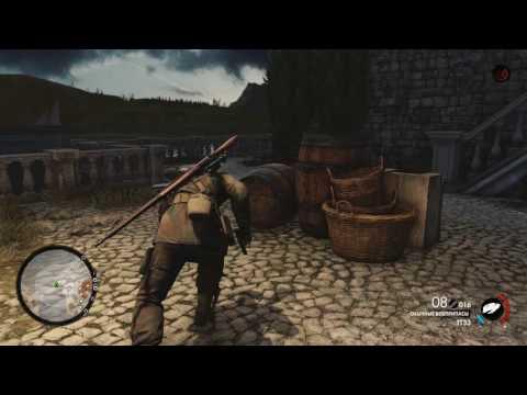 Sniper Elite 4 - Призрак с Ножом - Валим Ротбауэра без выстрелов + Глюк игры