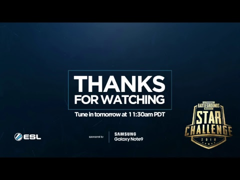 PMSC NA Semi-Finals Day 1 | Galaxy Note9 PUBG MOBILE STAR CHALLENGE- North America Semi-Finals Day 1