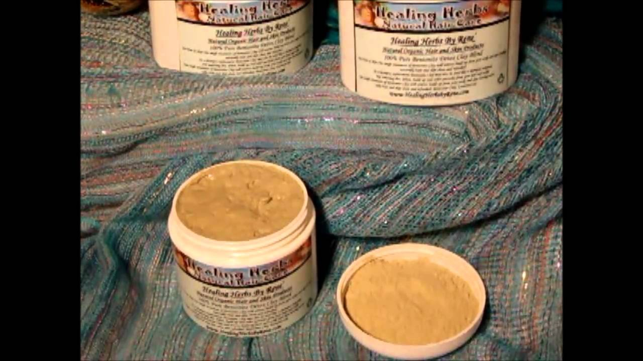 Bentonite clay for scalp