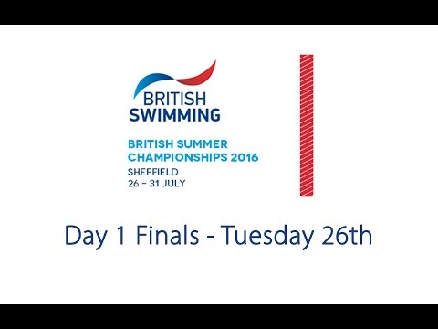Day 1 Finals - British Summer Championships 2016