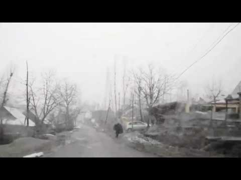 Srinagar-Sonmarg Srinagar-leh Highway winter tour blizzard