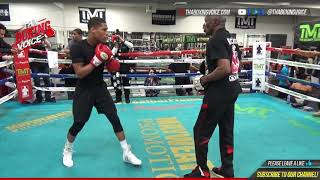 DEVIN HANEY has AMAZING WORKOUT ahead of SHOWTIME DEBUT, best PROSPECT in BOXING