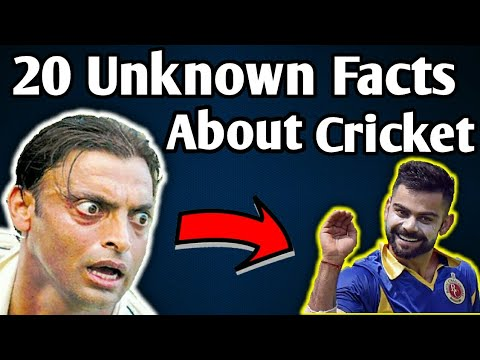 Cricket Facts : 20 Unknown Facts about Cricket