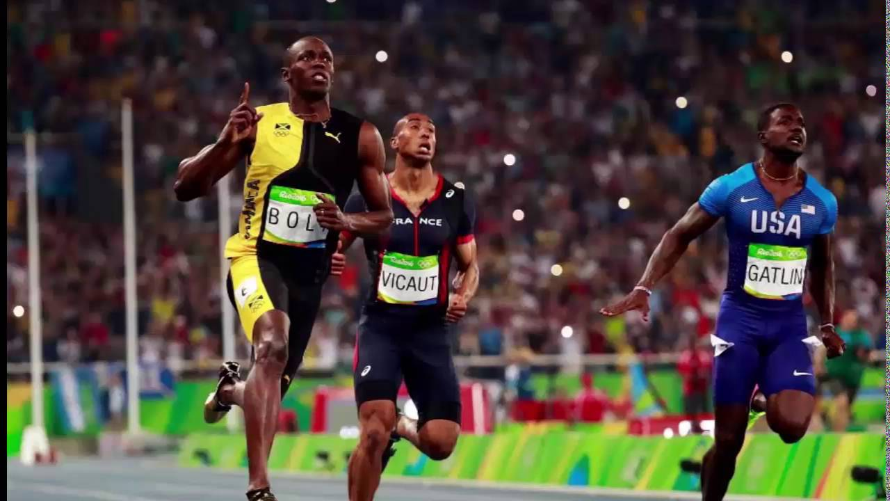 Usain Bolt Wins 100m Final with a 9.81 at Rio Olympics ...