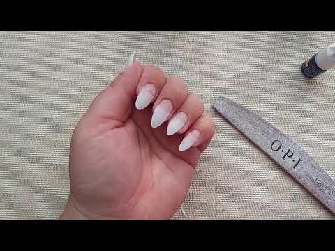 Как наращивать ногти в домашних условиях на типсы