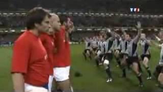 Haka - All Blacks vs. XV de France - Coupe du Monde de Rugby 2007 (France)
