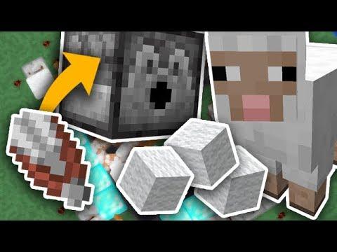 Automatic Wool Farm In Minecraft 1.14