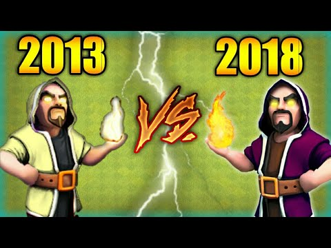 2013 Vs 2018 New Coc Vs Old Coc What Changed In Game?   Coc