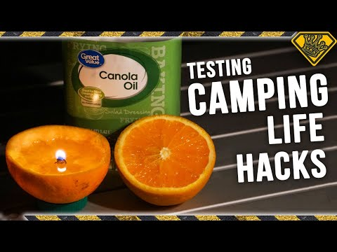 Before You Go Camping...