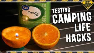 10 Camping Life Hacks Put to the Test