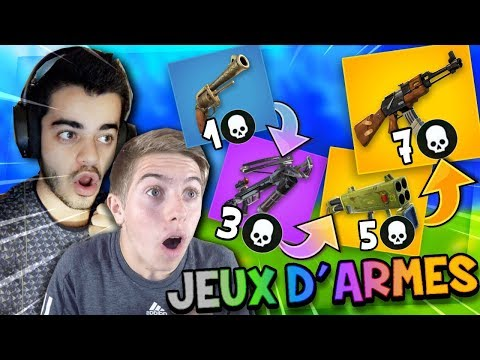 Fortnite - *NEW MODE* JEUX D'ARMES AVEC MICHOU !! ( LA REVANCHE)