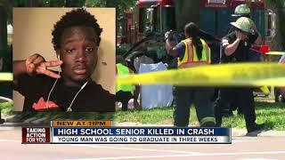 Community mourns the death of teen killed in crash 3 weeks before Lakewood High School graduation