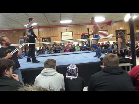 Adam Grace (w/ Colin Brooks) vs Kyle Roberts- RCCW