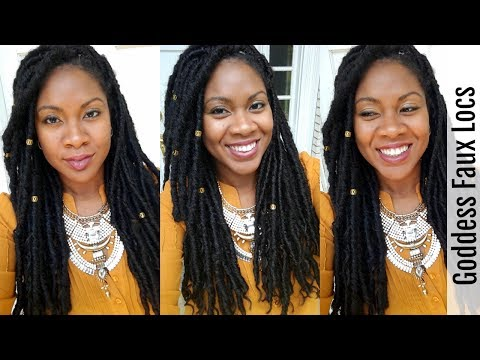 Crochet Faux Locs NO Cornrows | JAZZ NICOLE METHOD | Naturally Michy