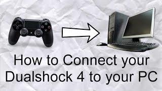Best way to connect your Dualshock 4 to your PC! No X360CE (UPDATED 2014)