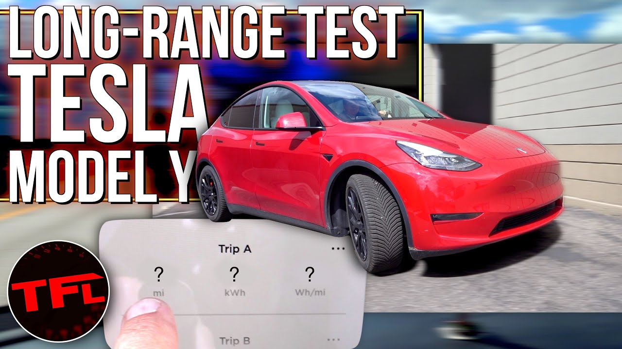 Tesla SAYS My Model Y Performance Will Make It Over 300 Miles...Let's See If That's Really