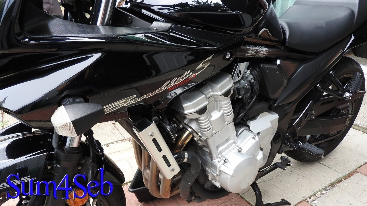 Coolant Flush on a Suzuki Bandit 1250s |¦| Sum4Seb Motorcycle Video