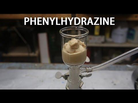 Making Phenylhydrazine (Skatole Precursor)