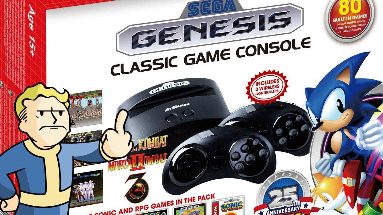 Sega Genesis 16 Bit Power - Plug & Play Longplay & Review ...
