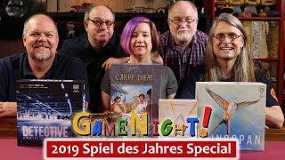 GameNight! 2019 Spiel des Jahres and Kennerspiel des Jahres Special