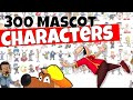 300 stock character images