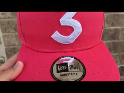 Chance The Rapper x New Era 3 Hat Salmon ba0d9c59c98