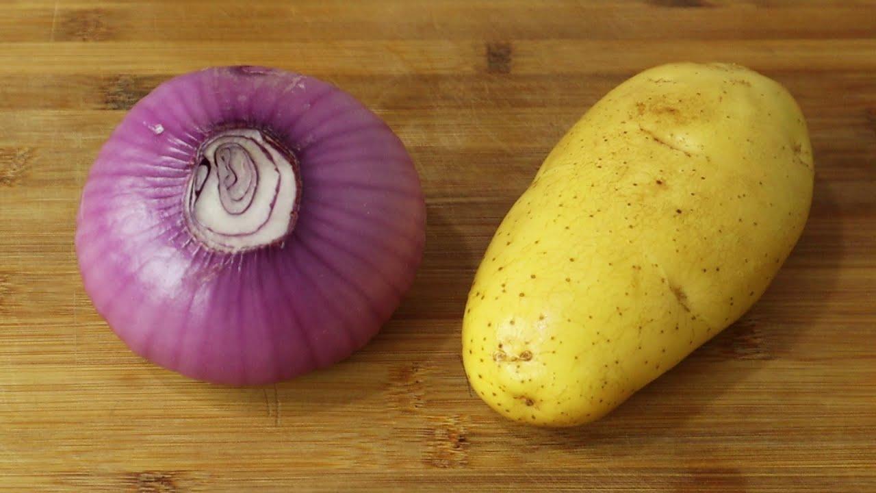 洋葱加土豆这样简单一做,开胃又下饭,比吃肉还香,全家都爱吃