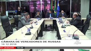 SESSÃO CÂMARA DE RUSSAS18 12 2018