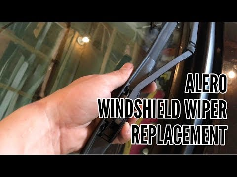How to Replace Passenger Windshield Wiper Oldsmobile Alero
