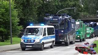 [DURCHSAGEN] SCHWERES GESCHÜTZ DER POLIZEI BERLIN AUF EINSATZFAHRT IN HAMBURG