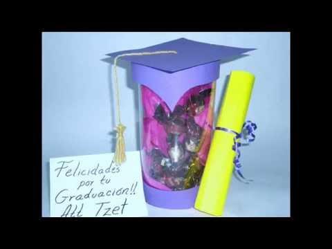 DIY // Graduation gift ♥ Manualidades // Regalo de graduacion ...
