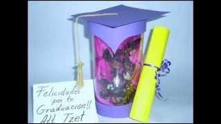 DIY // Graduation gift ♥ Manualidades // Regalo de graduacion