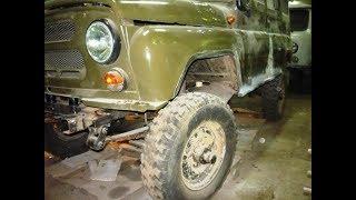 Купили  УАЗ с консервации 1978 года  и сделали  УНИКАЛЬНЫЙ ВНЕДОРОЖНИК,для поездок на охоту.