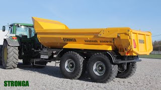 Stronga DumpLoada 900HP - Dump trailers fully committed to heavy materials