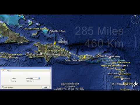 Caribbean HF 80m NVIS Domincan Republic to Puerto Rico