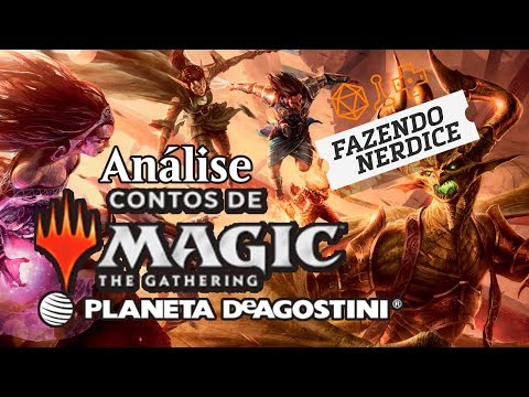 Review: Contos de Magic the Gathering da Planeta DeAgostini #patrocinado