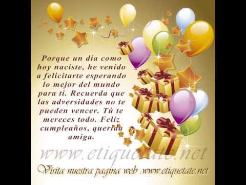 Feliz Cumpleaños Sara Flores - YouTube