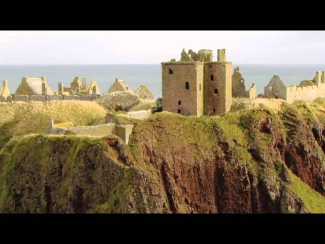 Dunnottar Castle - with Skellig of Loreena McKennitt