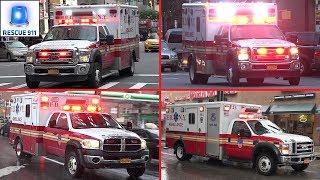 [New York City] FDNY Ambulances Collection