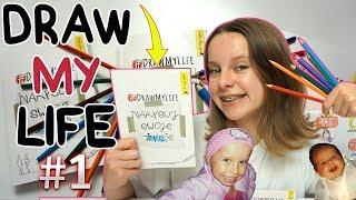 DRAW MY LIFE  Narysuj swoje życie! #1 | Amelie