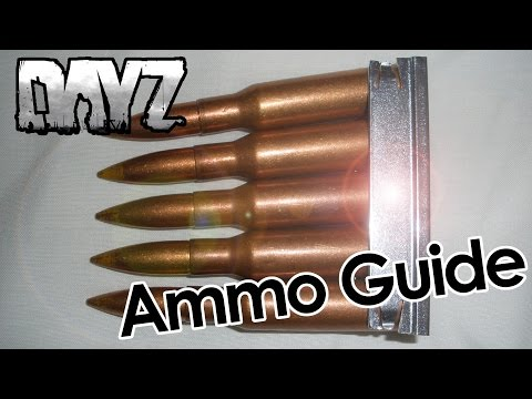 How To: DayZ Ammo Guide find ammo in DayZ 0.60 Standalone gameplay