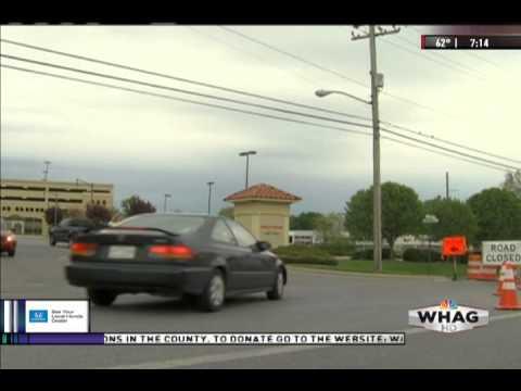 Jefferson County, WV Sinkhole - WHAG News at 7:00 PM - Monday 5 May 2014