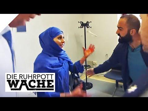 Aufgebrachte Frau auf der Wache: Lebensretter Bora Aksu | Die Ruhrpottwache | SAT.1 TV