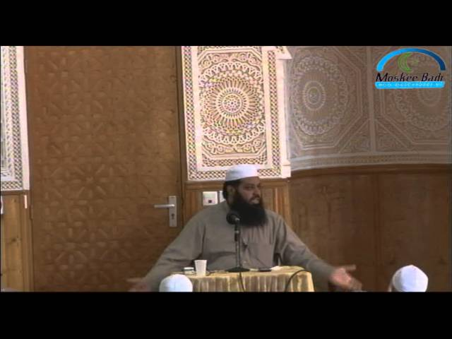 Lezing 29-04-2012: De omgang van de moslim