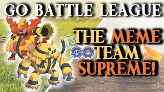 GO Battle League: Beating The Meta with a CD Meme Team! (Catch Cup)