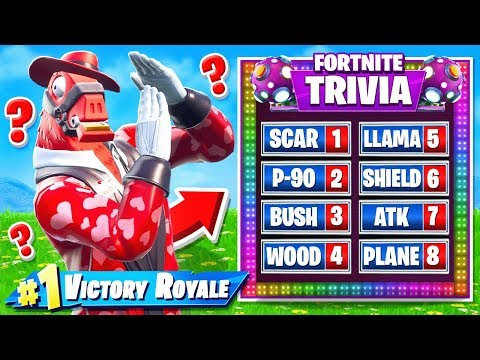 TRIVIA BATTLE in Fortnite!