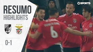 Highlights   Resumo: Vitória SC 0-1 Benfica (Taça de Portugal 18/19 1/4 Final)