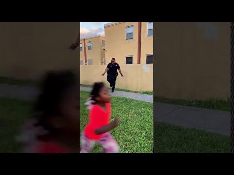 Cool Cop Can Hop    ViralHog