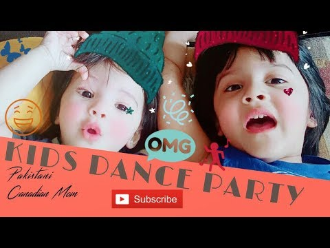 KIDS DANCE/EATING all day[Pakistani Canadian Mom]
